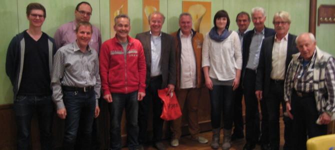 CDU Holthausen / Welper – Mitgliederversammlung erfolgreich – Danke Herr Glaser !