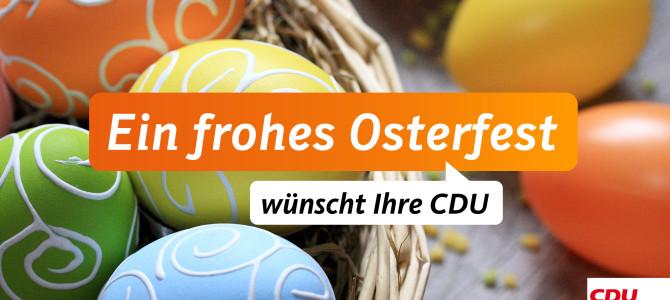 Wir wünschen Ihnen schöne Ferien und besinnliche Ostertage!