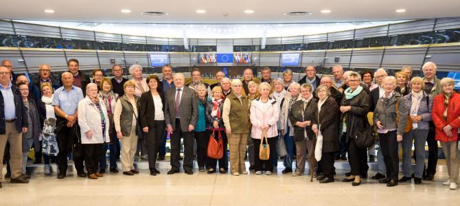 Informationsfahrt nach Brüssel