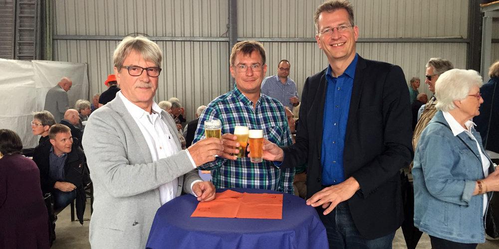 CDU-Hoffest: Zusammenkommen abseits der Tagespolitik auf dem Hof Pauli.