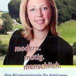 Wahlplakat aus dem Bürgermeisterwahlkampf 2009