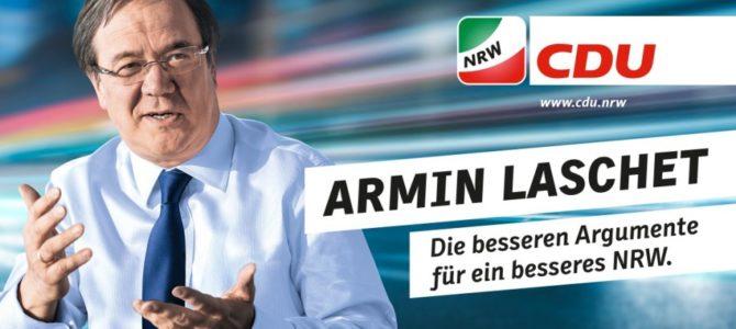 Armin Laschet stellt 100-Tage-Programm vor