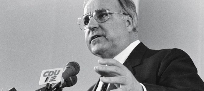 Die CDU trauert um Helmut Kohl