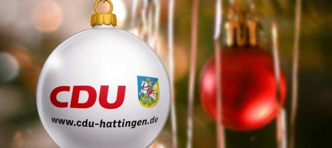 Wir wünschen gesegnete Weihnachten und ein frohes neues Jahr!