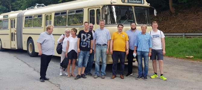 Sommertour des CDU-Europaabgeordneten Dennis Radtke im Ennepe-Ruhr Kreis
