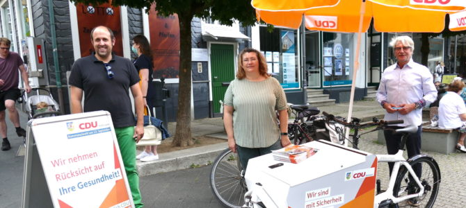 CDU Hattingen startet Wahlkampf