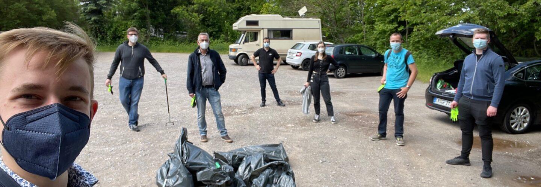 CDU kümmert sich – Müllsammelaktion der JU Hattingen